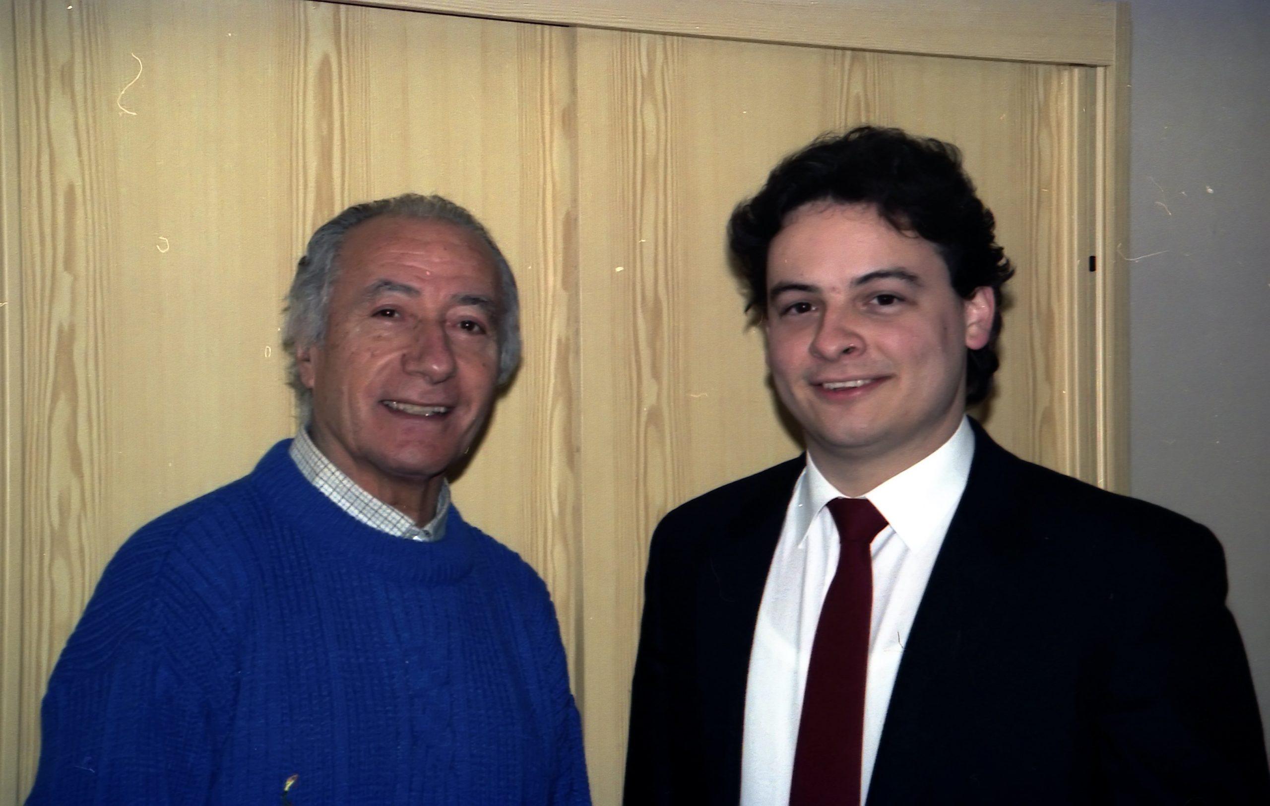 Alessandro visintini e Severino Gazzelloni